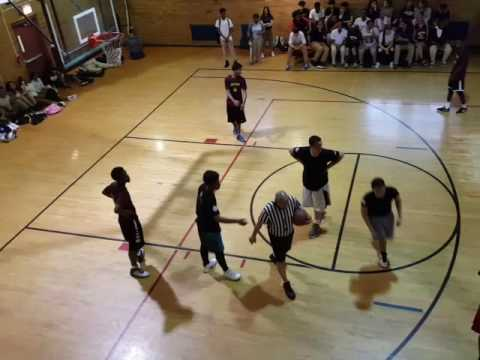 2016 Fordham leadership academy Kappa finals basketball game