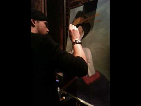Live Painting at Midtown Music Hall 3