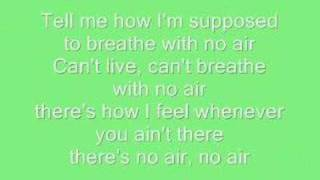 No Air Jordin Sparks Ft. Chris Brown - With Lyrics.mp3