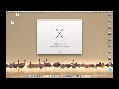 كيفية تنصيب الماك الجديد OS X El Capitan علي البي سي