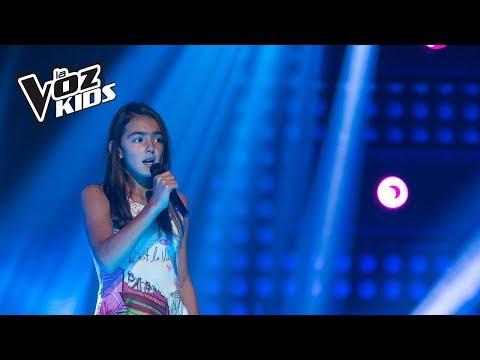 Michelle Canta Je Vole - Audiciones A Ciegas | La Voz Kids Colombia 2018