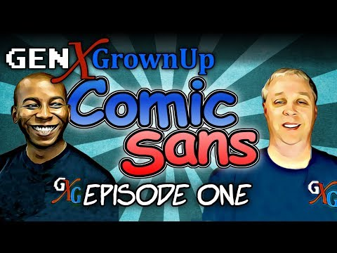 Everything Comic Books and The Kitchen Sink -- Comic Sans, Episode 1