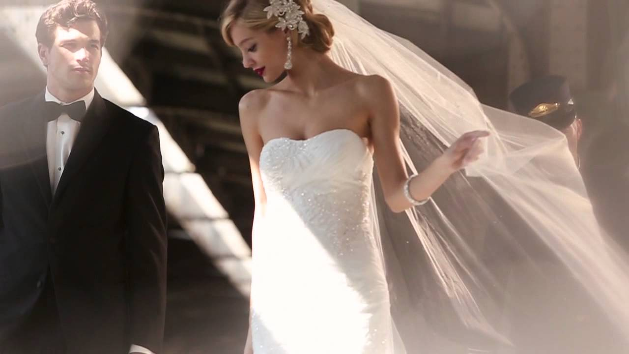 Galina Signature Spring 2013 Wedding Dresses Exclusively At David S Bridal Youtube