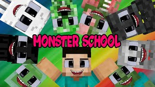 MONSTER SCHOOL : THE STORY OF MONSTER SCHOOL (HEROBRINE LIFE) : MINECRAFT ANIMATION