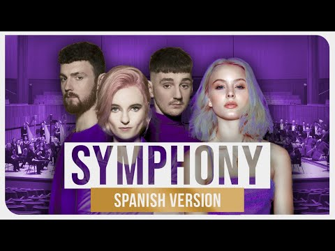 """Clean Bandit & Zara Larsson - Symphony Spanish  Ziccard from """"April &39;99"""""""
