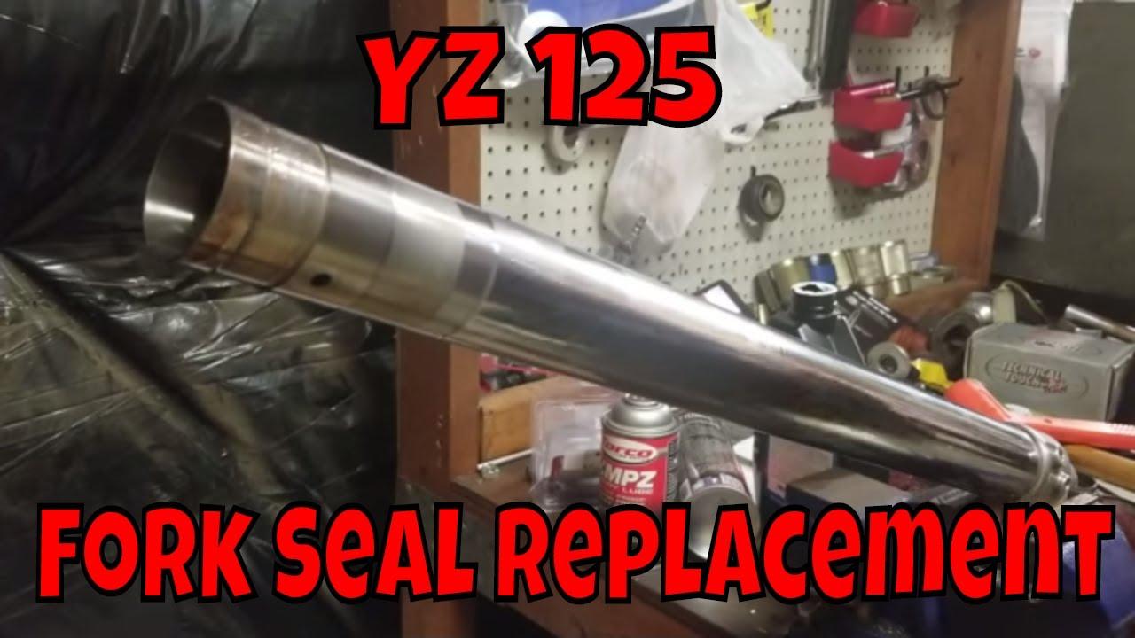 Yamaha YZ 125 2009 Fork Seal Replacement !