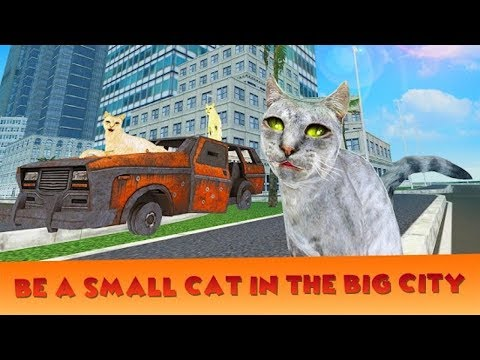 🐈Home Cat In the City Simulator-Домашная Кошка В Городе-By Virtual Animals World-Android