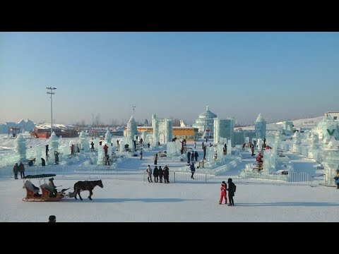 The world cup of ice scultping