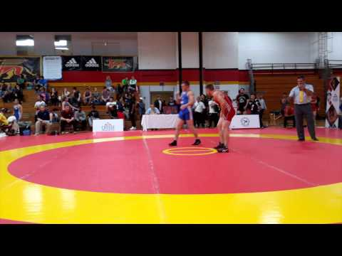 2015 Canada Cup: 61 kg Bronze Jake Hergenhein (CAN) vs. Jason Buckle (CAN)