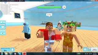 ~ ROBLOX ~ Shark Bite ~ Ft. HeyItsEva152 & Gold_Dog13 ~ (With Voice) ~