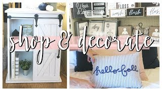 SHOP, CLEAN & DECORATE WITH ME! | HOBBY LOBBY FARMHOUSE DECOR