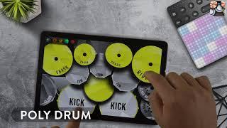 REAL DRUM: Kit Poly Drum