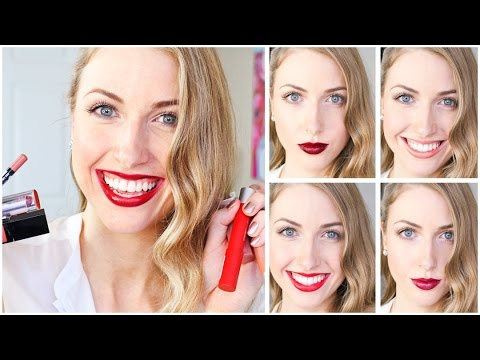 Top 10 Fall Lipsticks & Swatches || DRUGSTORE EDITION