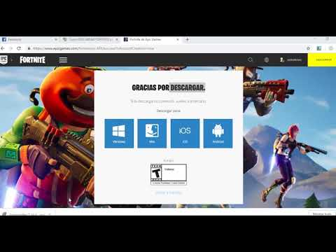 COMO DESCARGAR FORTNITE BATTLE ROYALE Para PC 2018 Windows 7, 8 Y 10 EN ESPAÑOL(CONFIABLE)?