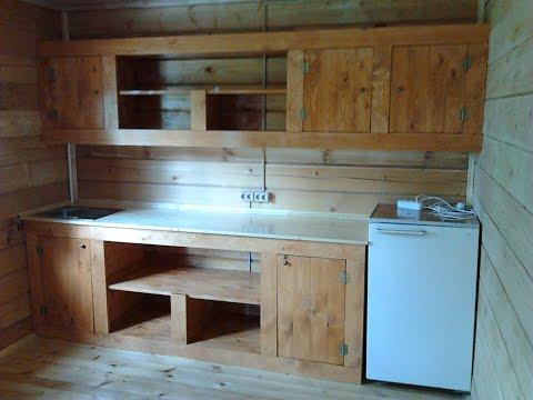 Мебель кухонная для дачи своими руками