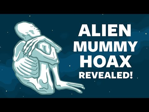 Alien Mummy Hoax Revealed - Nazca Peru (part 1)