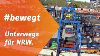 #bewegt - Unterwegs für Nordrhein-Westfalen. Armin Laschet zu Gast im Duisburger Hafen.