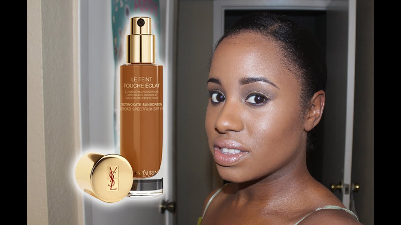 ysl touche eclat foundation b80 swatch 12hr wear test youtube. Black Bedroom Furniture Sets. Home Design Ideas