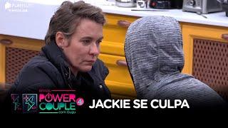 Jackie Sampaio se culpa após prova: 'Não me permito ser burra'