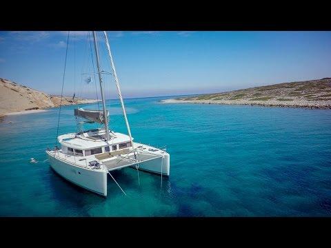 Sailing catamaran Greece 2016
