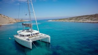 Sailing catamaran Greece 2016