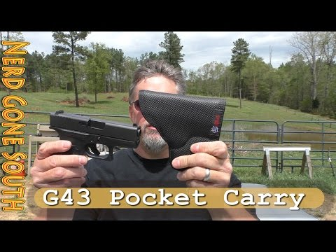 Glock 43 Pocket Carry with the Desantis Nemesis Holster