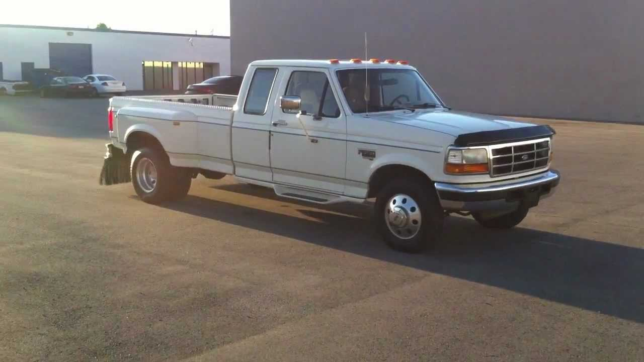 Mint 1996 Ford F350 Supercab Drw 2wd Only 88k Original
