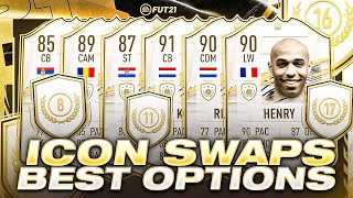 BEST ICON SWAPS YOU SHOULD PICK FOR ICON SWAPS 1! FIFA 21 ULTIMATE TEAM!