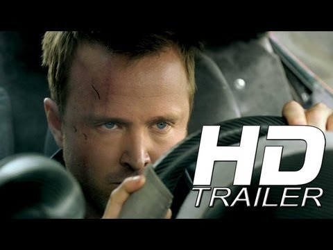 NEED FOR SPEED OFFICIAL TRAILER - AARON PAUL