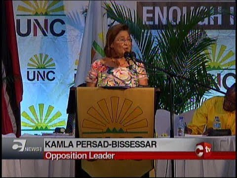Kamla To File No Confidence Motion In Works And Transport Minister