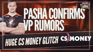 CS.Money Manipulating the Skin Market? PashaBiceps Confirms Leaving CSGO and FaZe Clan IS CURSED