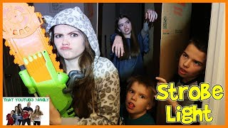 Zombie Base Survival In Huge Box Fort Maze! / That YouTub3 Family