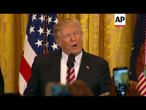 Trump Marks African-American History Month