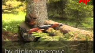 BOSNIA MOUNT VLASIC FIGHTING   30/6/1995