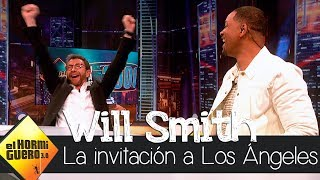 Will Smith invita a Pablo Motos a Los Ángeles para grabar 'El Hormiguero 3.0' - El Hormiguero 3.0