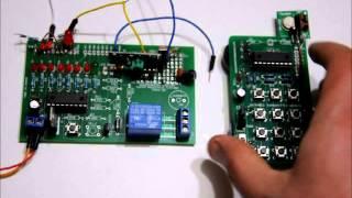 Wireless Transmitter & Receiver - 433MHz with Encoder & Decoder