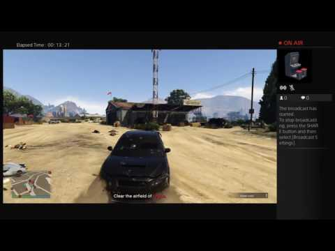 steelcityshoota's Live PS4 Broadcast get rich or die trying prison heist