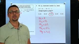 Sayısal Mantık Test 11 Sayı Dizileri 2 Orijin Matematik