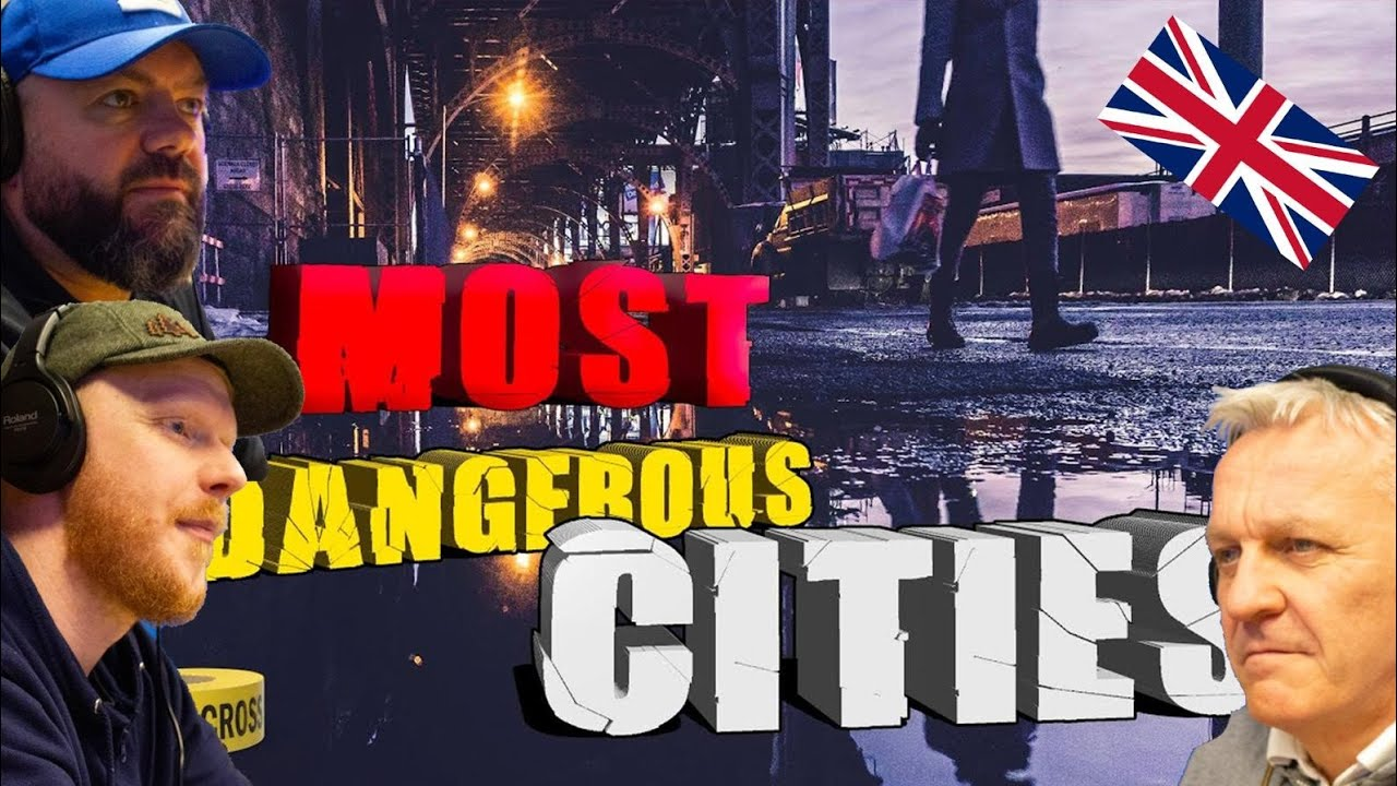 The 10 MOST DANGEROUS CITIES in AMERICA REACTION!! | OFFICE BLOKES REACT!!