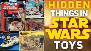Hidden Things In Vintage Star Wars Toys