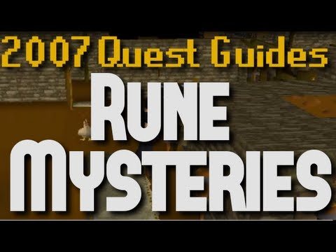 Rune mysteries quest runescape quest guides old school.