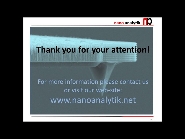 nano analytik GmbH - Active Cantilevers Diamond Tip