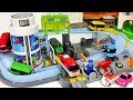 Titipo  Tayo s Station Playset   Bus  Train  Let s all run together   PinkyPopTOY
