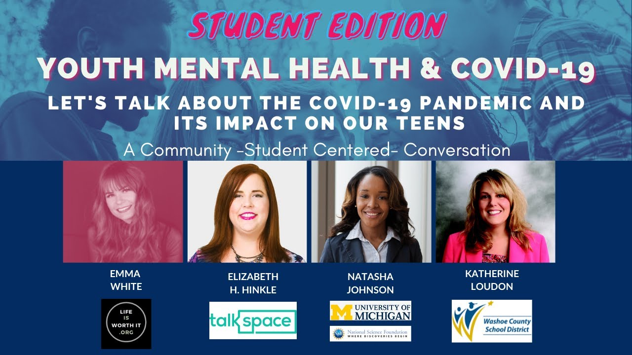 Speaker Series - Student Edition! Youth Mental Health and the COVID-19 Pandemic