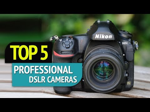 TOP 5: Professional DSLR Cameras 2018