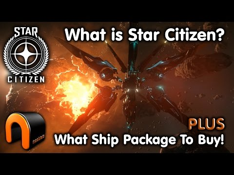 WHAT IS STAR CITIZEN? & WHAT SHIP PACKAGE TO BUY!
