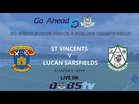 SHC A - St Vincents v Lucan Sarsfields