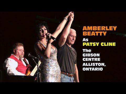 Amberley Beatty as Patsy Cline -Gibson Centre - Alliston, Ontario