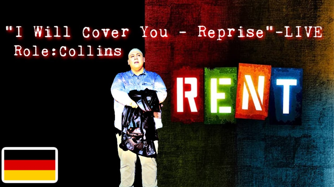 "Andrew Reyes - ""I Will Cover You - Reprise"" - LIVE - from RENT"