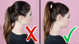 Lazy Girl Hair Hacks You've Gotta Try! 11 HAIR HACKS